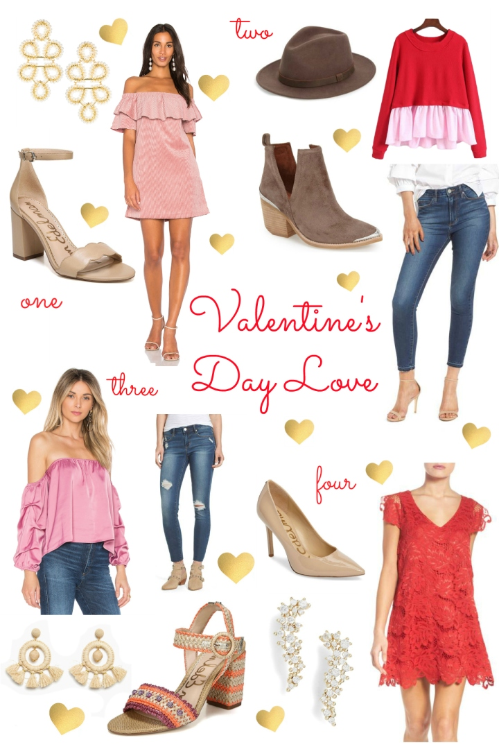 Valentines Day Collage